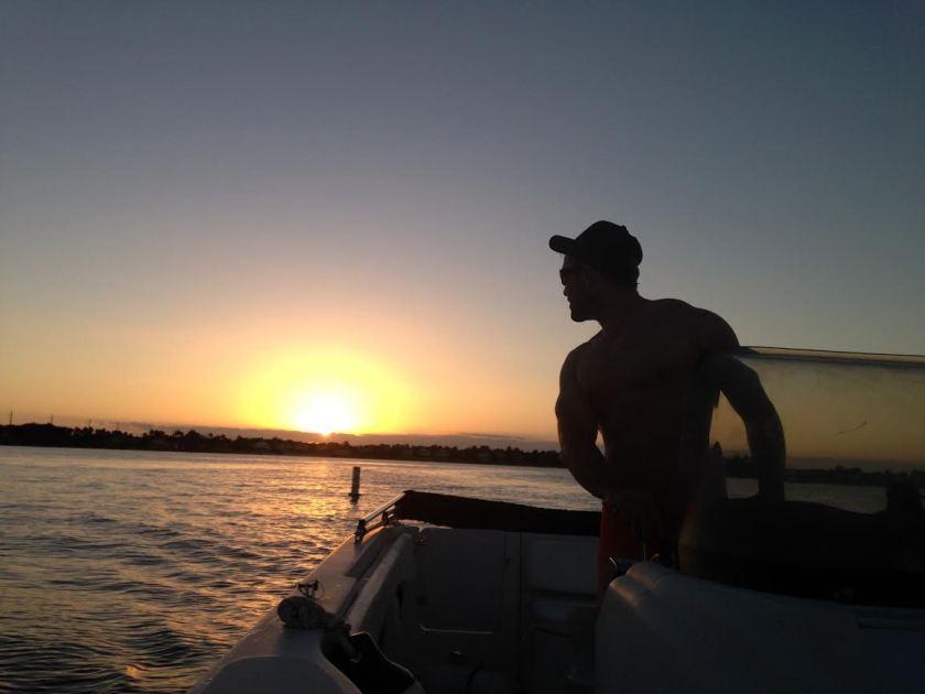 Ralf Sunset Boat